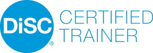 DiSC Certified Trainer Blue Logo