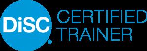 DiSC Certified Trainer Blue Logo